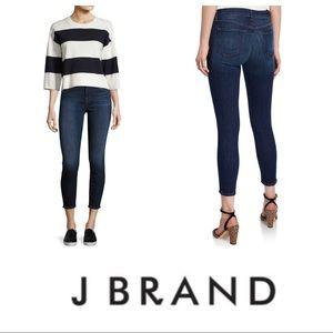 J Brand Dark Vintage Wash Capri Jeans size 29